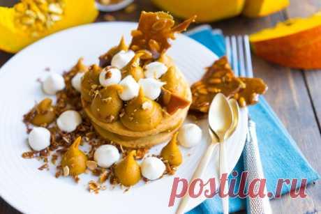 Сногсшибательный тыквенный десерт;) — Вкусные рецепты