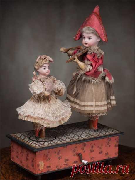 История создания кукол