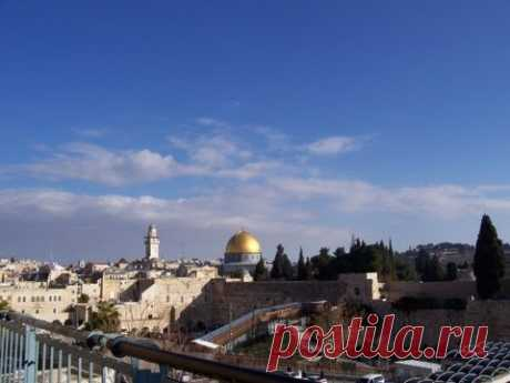 Иерусалим - видео прогулка: Над небом голубым.... Муз.фильм о Иерусалиме