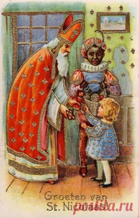Как злобный Клаус стал добрым Сантой