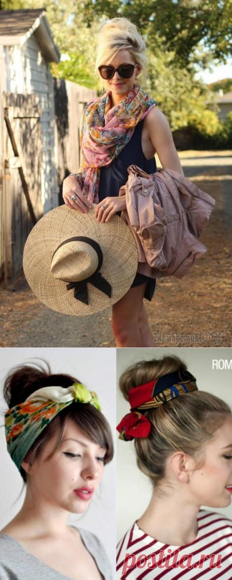 Модные летние шарфики на 2017 год: фото стильных образов