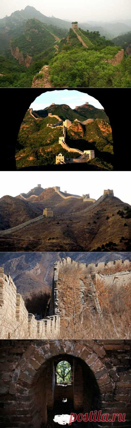 Руины Великой китайской стены | НАУКА И ЖИЗНЬ