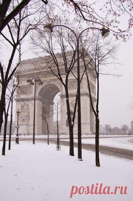 DSC_0012 Neige à Paris le 20 janvier 2013