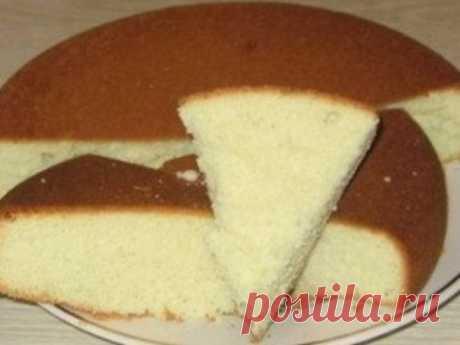 Как приготовить бисквит классический. - рецепт, ингридиенты и фотографии