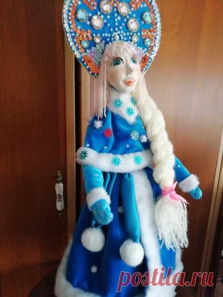 Снегурочка кукла под елку
