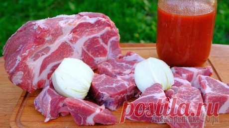 Очень вкусный маринад для шашлыка из свинины – Вкусный мягкий шашлык из свинины