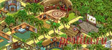 Игра My Sunny Resort играть онлайн бесплатно
