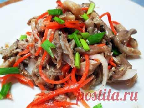 Маринованные грибы по-корейски   Корейские грибы   Как приготовить грибы   Рецепты с грибами