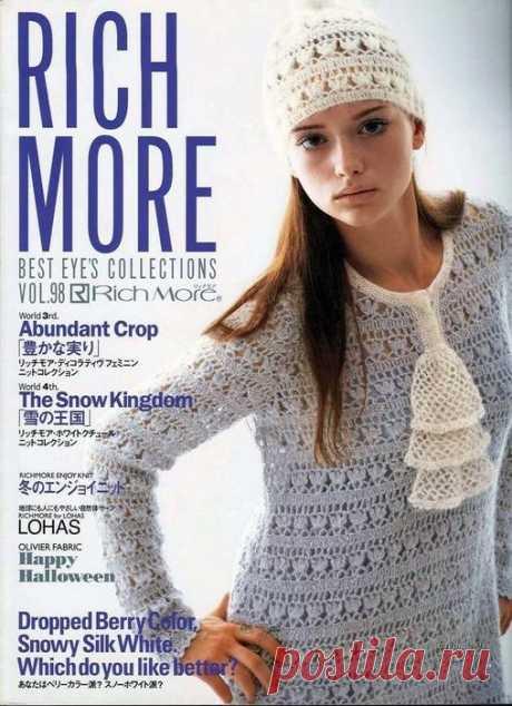Вязание-японские модели | Записи в рубрике Вязание-японские модели | Дневник Лариса_Павловна