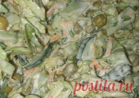 (5) Салат с молодой капустой - пошаговый рецепт с фото. Автор рецепта Gayane Hakobyan . - Cookpad