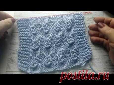 Узор спицами жучки, паучки.Knitting pattern with bugs, spiders.