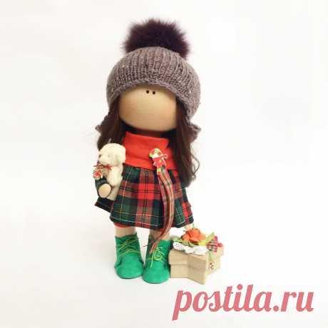 Купить интерьерную куклу тильду ручной работы от Kameya_doll | Mellroot
