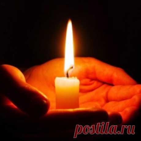 *Как определить свое энергетическое состояние по пламени свечи*