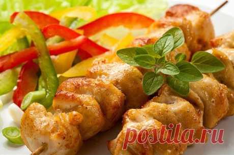 Жареные куриные шашлыки в соусе якитори рецепт – японская кухня: закуски. «Еда»