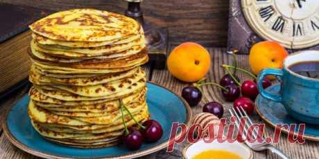 7 рецептов очень вкусных овсяных блинов - Лайфхакер