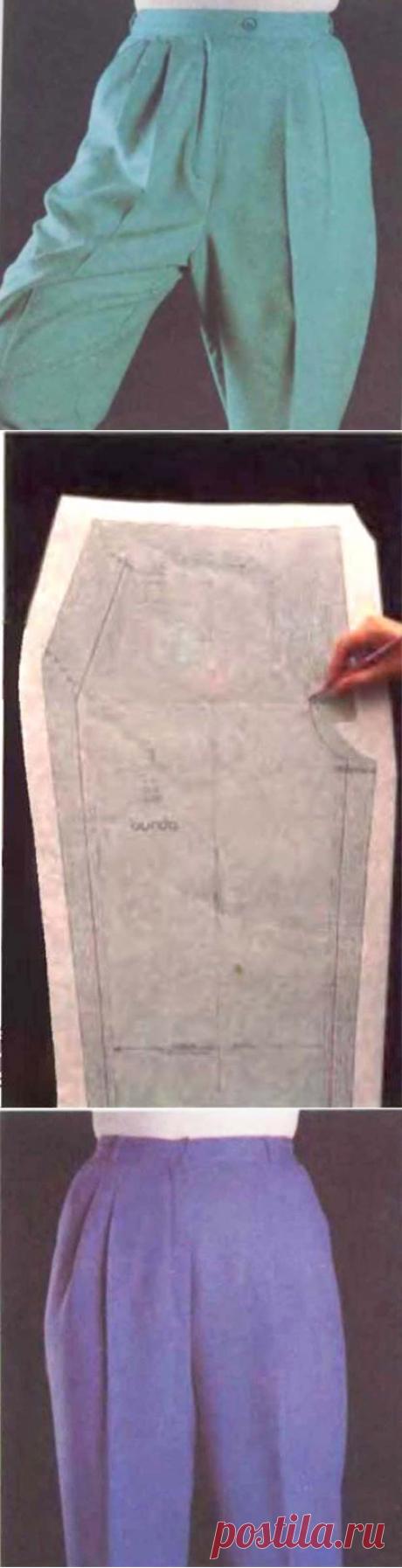 """Как исправить выкройку, когда брюки плохо сидят. Советы от компании """"Зингер"""""""