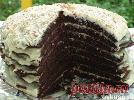 Шоколадный торт на кефире ″Ноченька″ - Простые рецепты Овкусе.ру