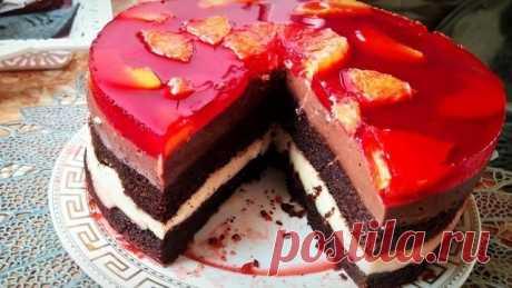 Торт бисквитный – пошаговый рецепт с фотографиями