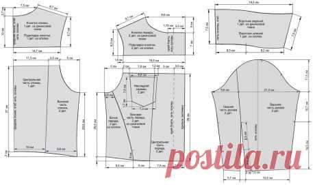 Выкройка джинсовой куртки на ребенка 6-7 лет | Выкройки одежды на pokroyka.ru