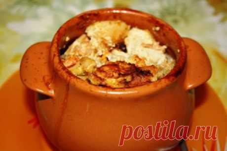 Перловка с курицей в горшочке рецепт с фотографиями