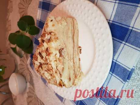 Торт Наполеон - прекрасный десерт для романтичного вечера