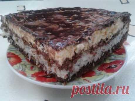 торт баунти рецепт пошагового