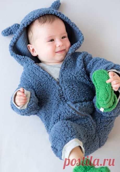 Выкройка комбинезона малышу Модная одежда и дизайн интерьера своими руками