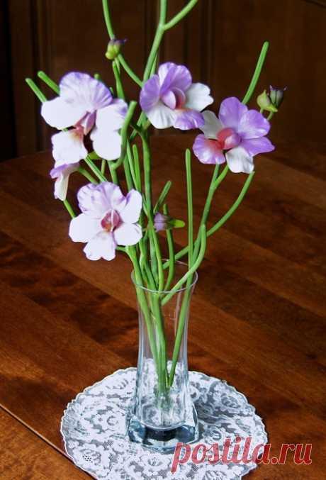 Восхитительные лилии из пластики — Сделай сам, идеи для творчества - DIY Ideas