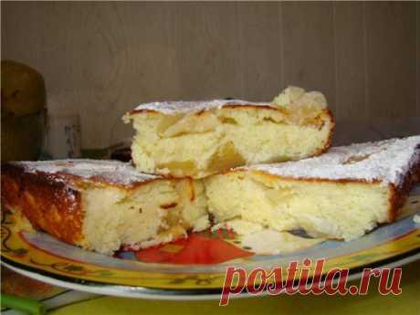 Запеканка творожно-яблочная - Кулинарные рецепты от Веселого Жирафа