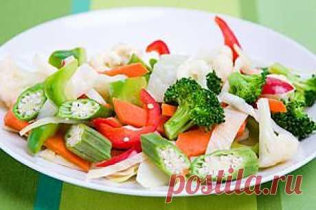 Салат из цветной капусты и редиса | www.wmj.ru