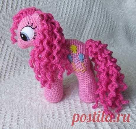 Вяжем розовых пони! из категории Интересные идеи – Вязаные идеи, идеи для вязания