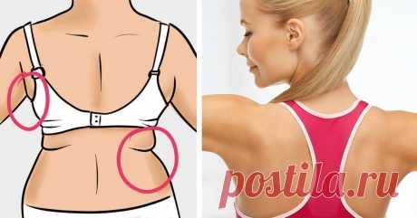 Формируем линию спины и боков: 3 упражнения против подкожного жира и валиков на спине - Интернет ежедневник - медиаплатформа МирТесен