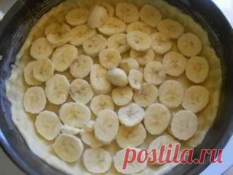 Нежный, тающий во рту пирог с бананами!