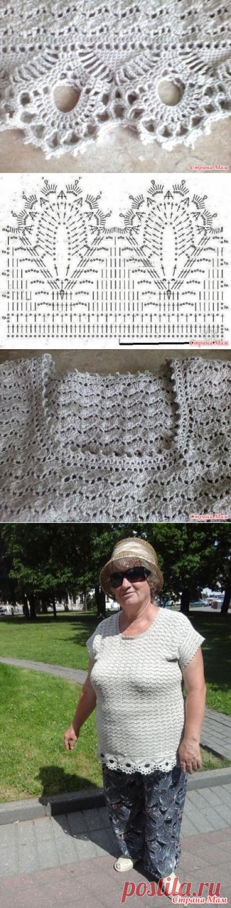 Туника для мамы (крючок) - Вязание - Страна Мам