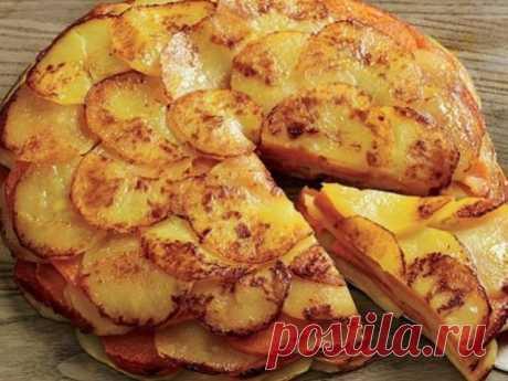 Ароматный и сочный картофель «Буланжер»! Вкусно, как в ресторане!