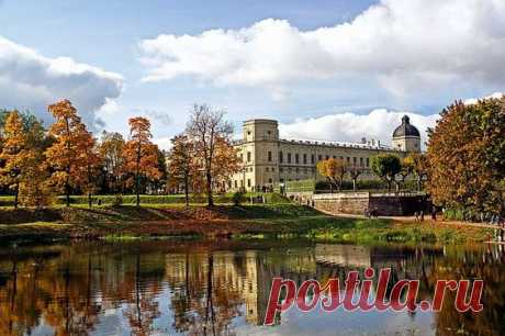 Gatchina Park and Gatchina Palace of Paul the First, south of Saint-Petersburg, Russia \/ Source: saint-petersburg.com  \u000d\u000a| Pinterest • World catalog of ideas