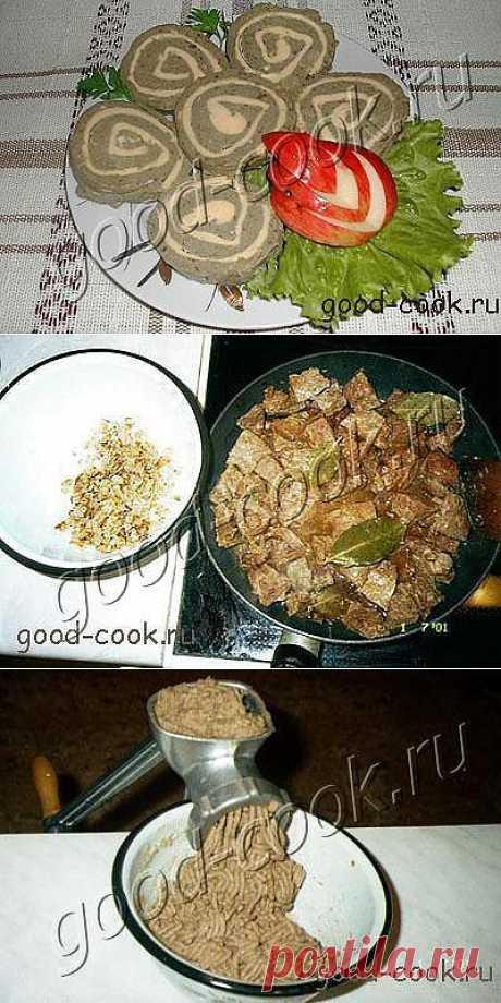 Хорошая кухня - паштет из печени. Кулинарная книга рецептов. Салаты, выпечка.