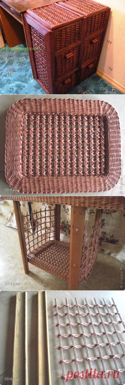 Wicker furniture a master class — Galaptop.ru