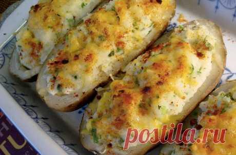 Запекли картошку и просто каждый день меняем начинку: вкусы не надоедают месяц - Steak Lovers - медиаплатформа МирТесен