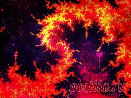 Fiery Space  Free Stock Photo HD - Public Domain Pictures