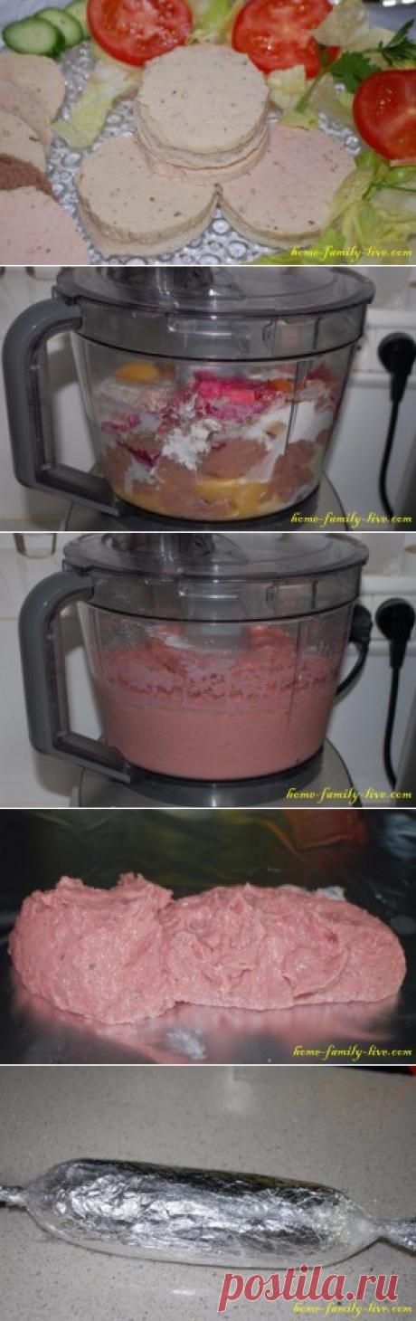 Колбаса домашняя - пошаговый фоторецептКулинарные рецепты