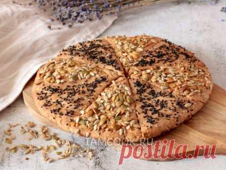 Ржаная лепешка без дрожжей с семечками — рецепт с фото Простая и очень быстрая в приготовлении ржаная лепешка без дрожжей.