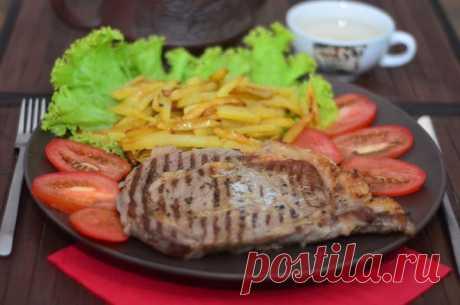 Стейк «Рибай» кулинарный рецепт с фото от Paragrams