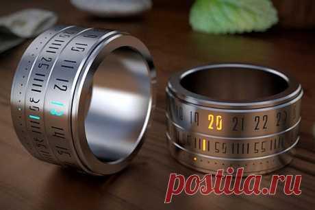 Gizmonews.ru » Ring Clock — и часы, и колечко