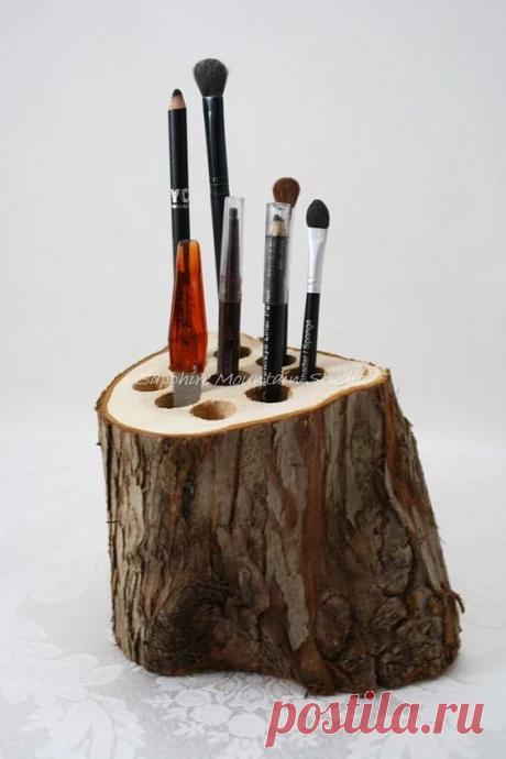 Самоделки из дерева (экологично и красиво)   38 рукоделок   Яндекс Дзен