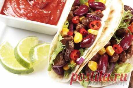 Тако рецепт ☝ Мексиканская кухня