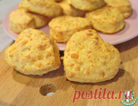Сырные булочки сконы – кулинарный рецепт