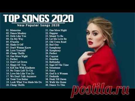 Rihanna, Ed Sheeran, Katy Perry, Maroon 5, Bruno mars, Charlie Puth, Sam Smith Pop Hits 2020