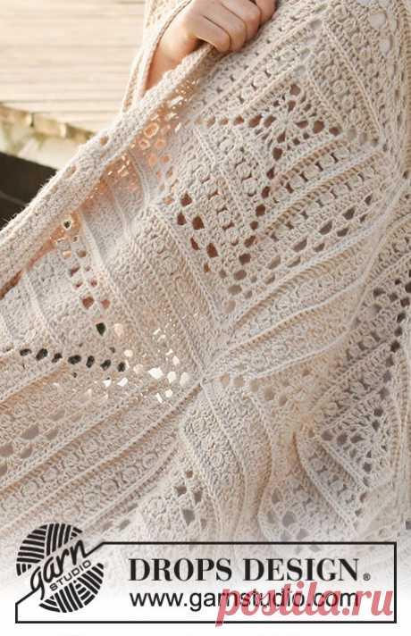 Day By The Sea / DROPS 221-2 - Modèles crochet gratuits de DROPS Design