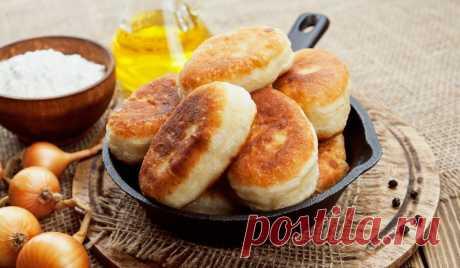 Рецепт постных пирожков с грибами